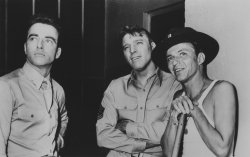 "Montgomery Clift, Burt Lancaster and Frank Sinatra in ""From Here To Eternity"""