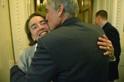 Democratic Senators speak on Women's Heath in Washington, D.C.