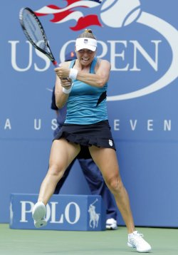 Vera Zvonareva at the U.S. Open Tennis Championships in New York