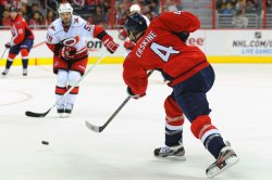 Washington Capitals vs Carolina Hurricanes in Washington