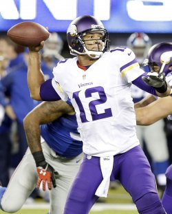 Minnesota Vikings vs. New York Giants