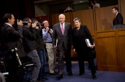 Homeland Security Secretary Janet Napolitano Testifies on Immigration in Washington