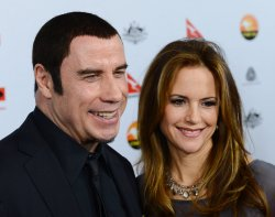 John Travolta and Kelly Preston attend G'Day USA gala in Los Angeles