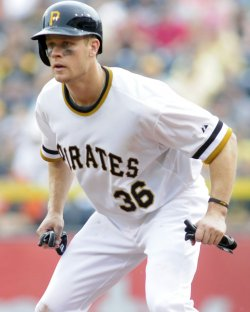 Pittsburgh Pirates Justin Morneau in Pittsburgh