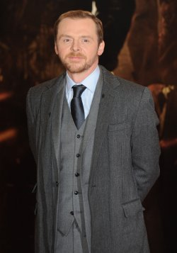 "Simon Pegg attends the premiere of ""Mission: Impossible Ghost Protocol"" in London"