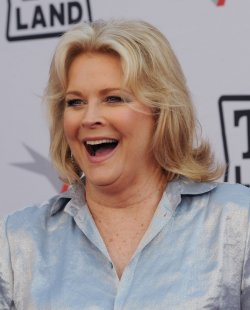 Candice Bergen arrives at the AFI Lifetime Achievement Awards in Culver City, California