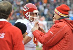 Trainer helps Chiefs Orton against Bears in Chicago