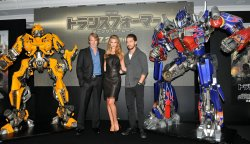 """Transformers: Dark of the Moon"" press conference"