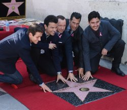 New Kids On The Block receive star on Hollywood Walk of Fame in Los Angeles