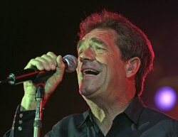 Huey Lewis and the News perform in Pompano Beach, Florida