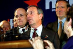Bloomberg Wins New York City Mayoral Election