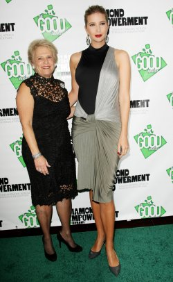 Phyllis Bergman and Ivanka Trump attend the first annual Good Awards in New York