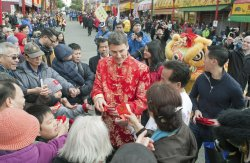 2013 Chinese New Year Parade celebrates the 'Year of the Snake' in Vancouver's Chinatown