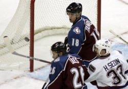 NHL VANCOUVER CANUCKS VS COLORADO AVALANCHE