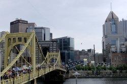 Nik Wallenda High Wire Walk Over Pittsburgh