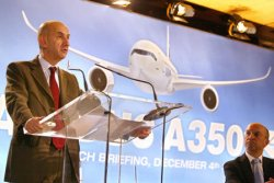 A350 AIRBUS IS LAUNCHED