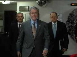 Bush visits National Counterrerrorism Center in Virginia