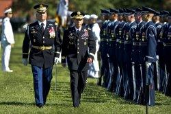 U.S. Army General David H. Petraeus retirement in Virginia