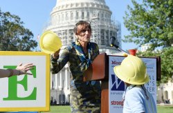Members of congress attend affordable child care event