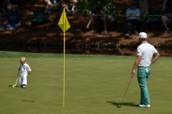 Par 3 Contest during the Master Golf Tournament in Augusta, Georgia