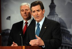 Sen. DeMint, Rep. Pence call for tax rate freeze in Washington