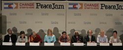 NOBEL PEACE LAUREATES ATTEND PEACEJAM