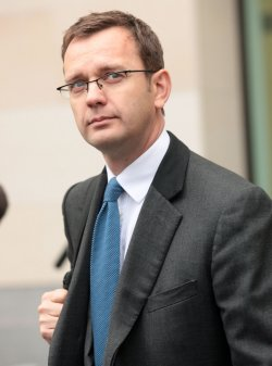 Andy Coulson charged with corruption at Westminster Magistrates Court.