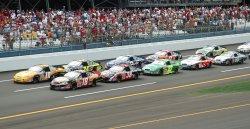 NASCAR BUSCH AARON'S 312