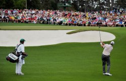 Round 4 of the Masters in Augusta, Georgia
