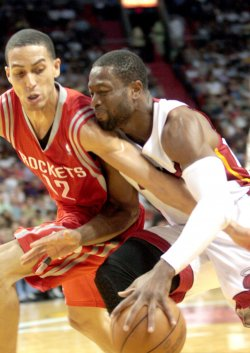 Houston Rockets at Miami Heat, American Airlines Arena, Miami, Fl.