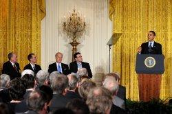 President Obama speaks at Fiscal Responsibility Summit in Washington