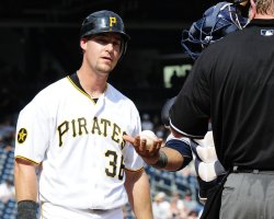Pirates Ryan Ludwick Stikes Out in Pittsburgh