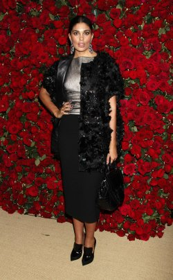 Rachel Roy arrives for the Museum of Modern Art Film Benefit honoring Pedro Almodovar in New York