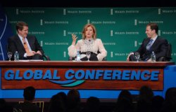 10TH MILKEN INSTITUTE GLOBAL CONFERENCE IN BEVERLY HILLS, CALIFORNIA