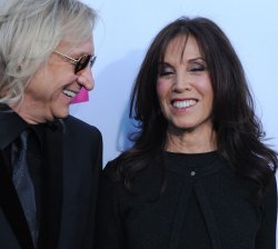 Joe Walsh and Olivia Trinidad Arias attend the 17th annual Critics Choice Movie Awards in Los Angeles