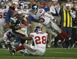 Super Bowl XLII New York Giants vs. New England Patriots in Glendale, Arizona