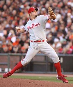 San Francisco Giants vs Philadelphia Phillies - National League Championship Series 2010