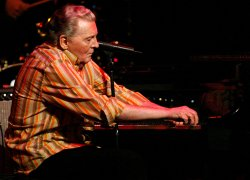 Jerry Lee Lewis performs in concert in New York