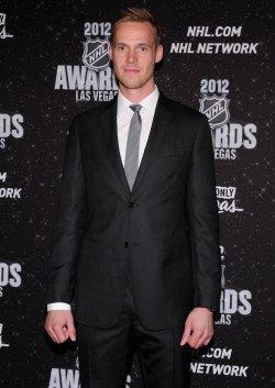 Pekka Rinne arrives at the 2012 NHL Awards in Las Vegas