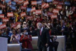 Vice President Joe Biden arrives to speak at DNC