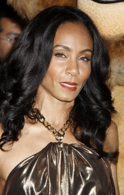 """Jada Pinkett Smith arrives for the premiere of """"Madagascar 3"""" in New York"""