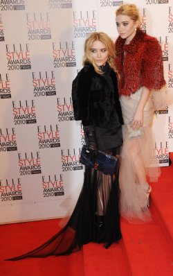 """Mary-Kate and Ashley Olsen attend """"Elle Style Awards"""" in London"""