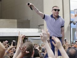 Macklemore & Ryan Lewis perform on the NBC Today Show