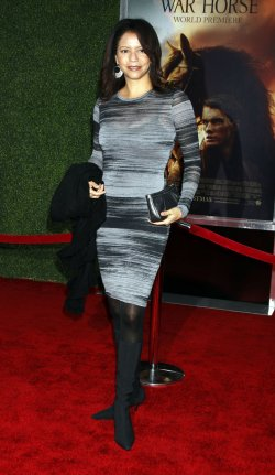 "Gloria Reuben arrives for the ""War Horse"" Premiere in New York"