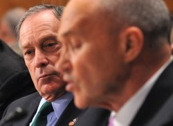 New York City Mayor Michael Bloomberg and police commissioner Raymond Kelly testify in Washington