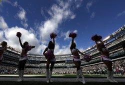 The New York Jets Flight Crew Cheerleaders perform