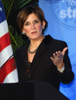 REPUBLICAN STRATEGIST MARY MATALIN