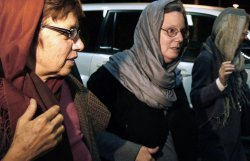 Mothers of detained U.S. hikers leave Iran