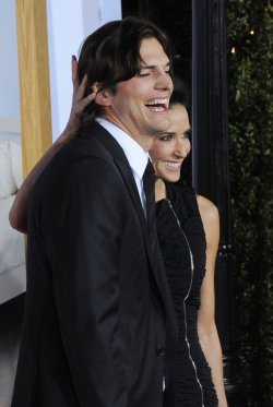 "Ashton Kutcher and Demi Moore attend the ""No Strings Attached"" premiere in Los Angeles"