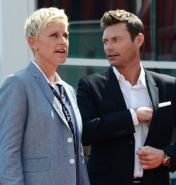 Ellen DeGeneres receives a star on the Hollywood Walk of Fame in Los Angeles
